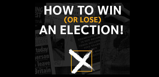 how to win (or lose) an election! the greatest hits, and misses, of election propaganda